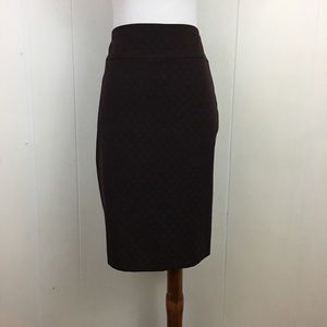 Elie Tahari Flat Front Pencil Skirt